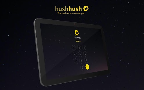 HushHush secure messenger. - screenshot thumbnail