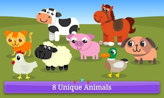 Screenshot of Magic Baby Books Farm Animals