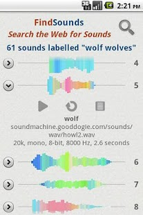 FindSounds- screenshot thumbnail