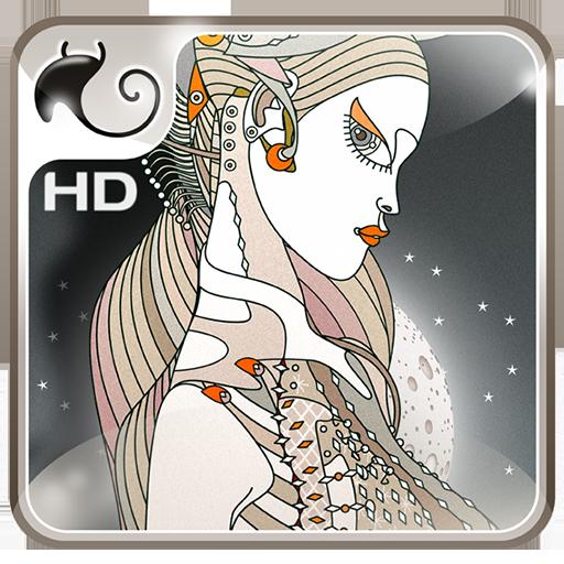 Drobita moon LWP 個人化 App LOGO-APP試玩