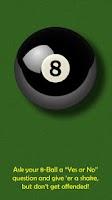Screenshot of Asshat's 8-Ball