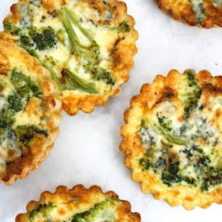 Broccoli Blue Cheese Tarts.