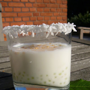 Banana-Coconut Tapioca Pudding