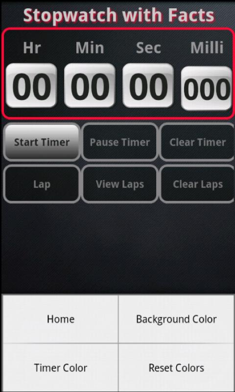 Timer With Facts- screenshot