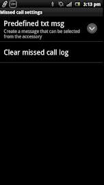 Missed Call smart extension Screenshot 4