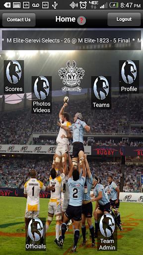 【免費運動App】Real-time Rugby-APP點子