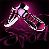 Pink Black Theme
