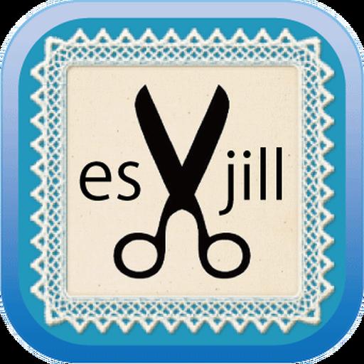ヘアデザイナーズサロン[es]×[jill]アプリ LOGO-APP點子