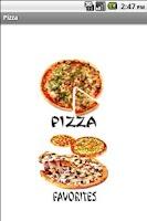 Screenshot of Pizza recipes