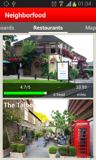 NBF Find restaurants in Oxford