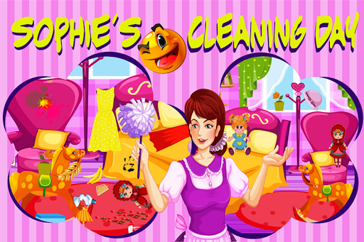 Sophie's Cleaning Game