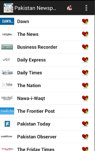 Pakistan Newspapers And News