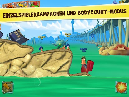 Worms 3 Screenshot