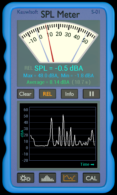SPL Meter- screenshot