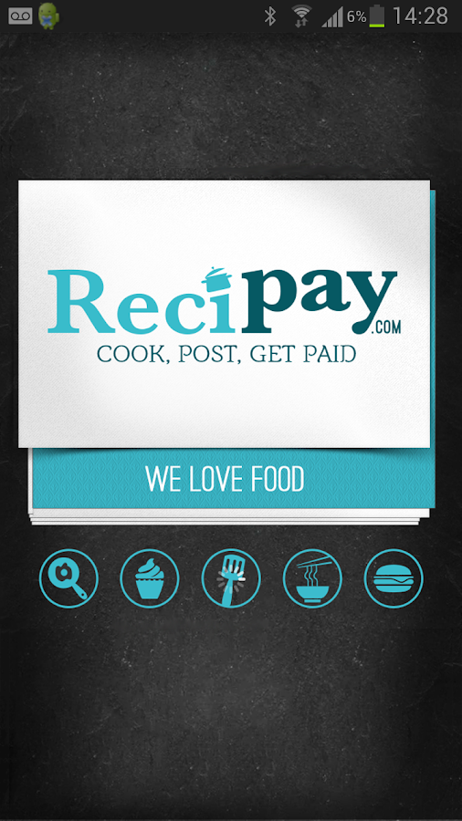 Recipay.com- screenshot