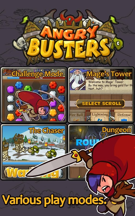 Angry Busters - screenshot