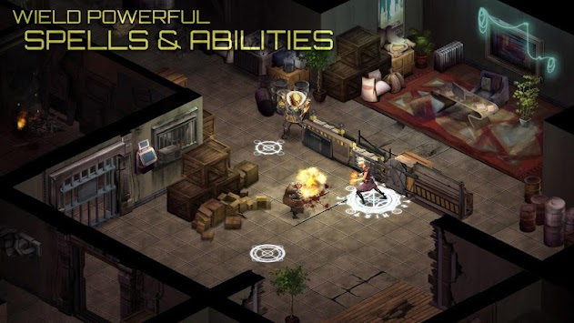 Shadowrun Returns apk screenshot
