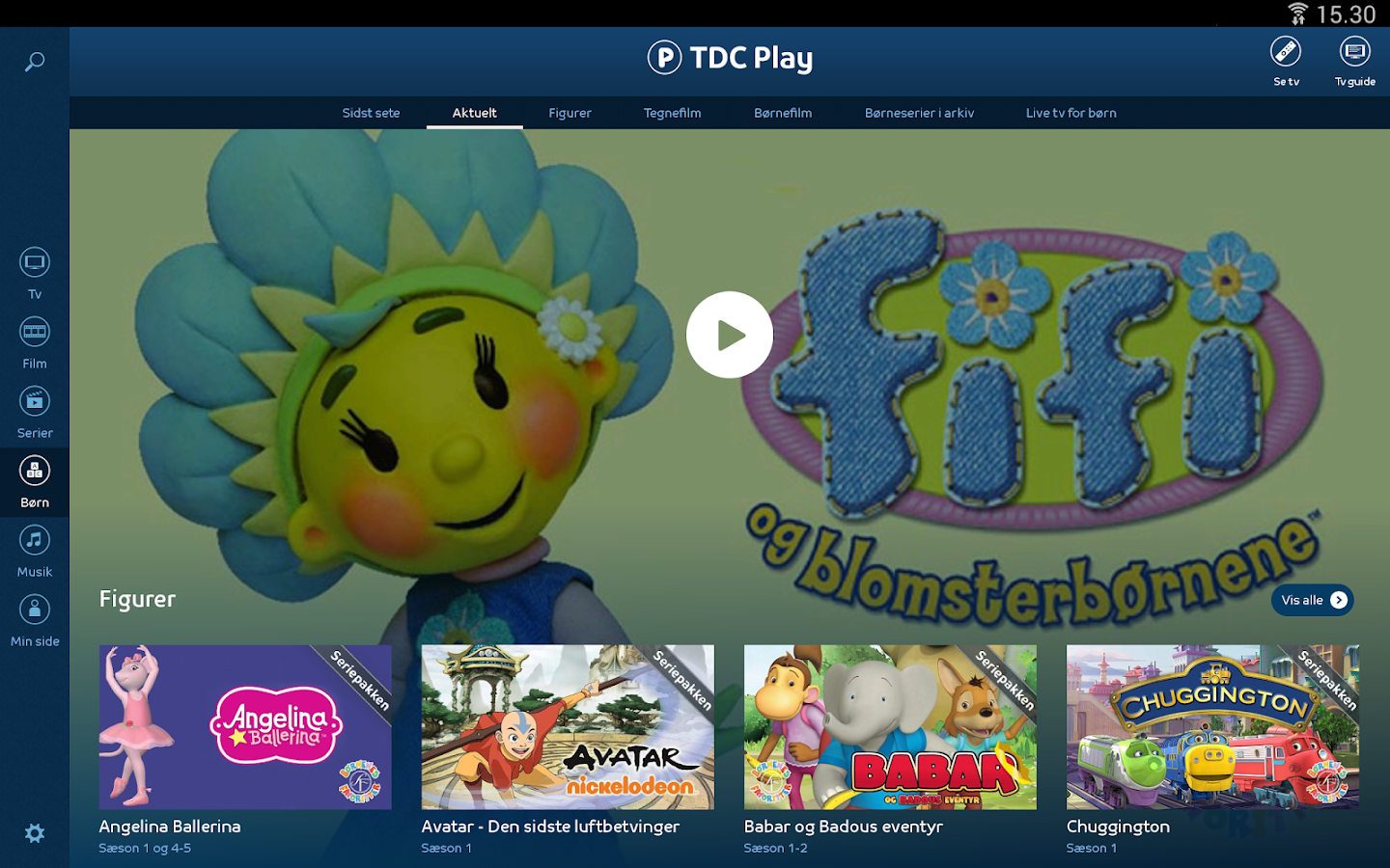 TDC Play Tv & Film - screenshot