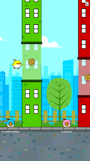 Flappy City: Cookie Bird Game