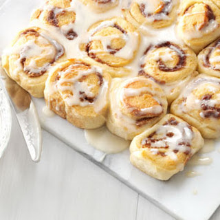 Mini Maple Cinnamon Rolls
