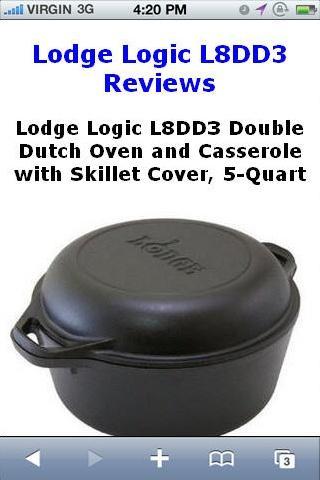Logic L8DD3 Dutch Oven Reviews