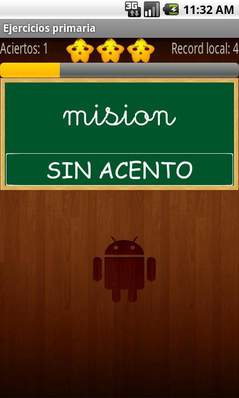 Spanish Ortography- screenshot
