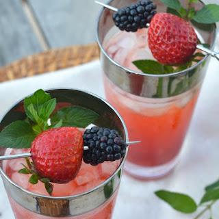 Berry Rum Smash