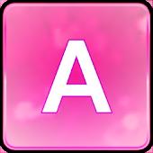 Pink Glitter Keyboard Skin