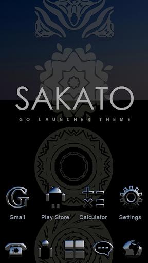 Sakato GO Launcher Theme