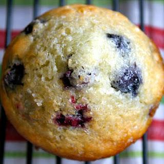 Honey-Blueberry Muffins.