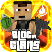Block Clans -3D Pixel Survival
