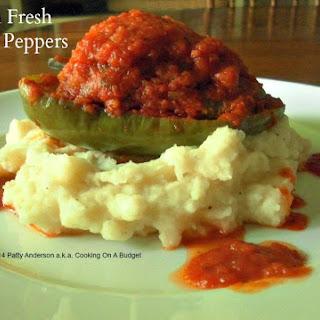 Garden Fresh Stuffed Peppers