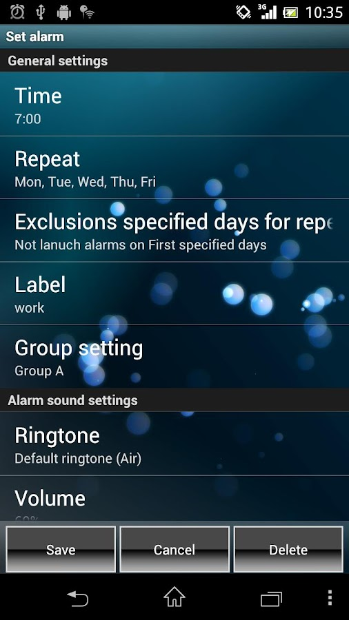 Smart Alarm (Alarm Clock) - screenshot