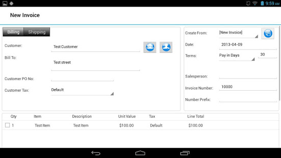 Express Invoice Invoicing Free Apps On Google Play - Google invoice software