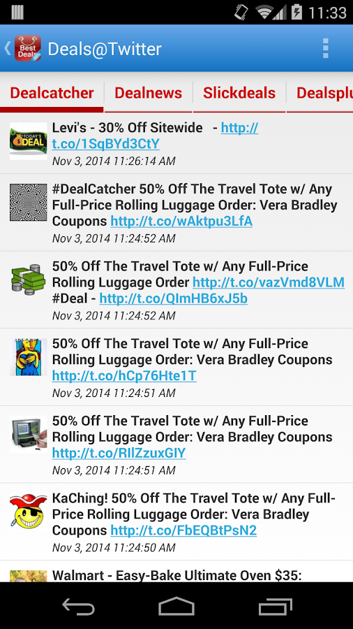 Best Deals - screenshot