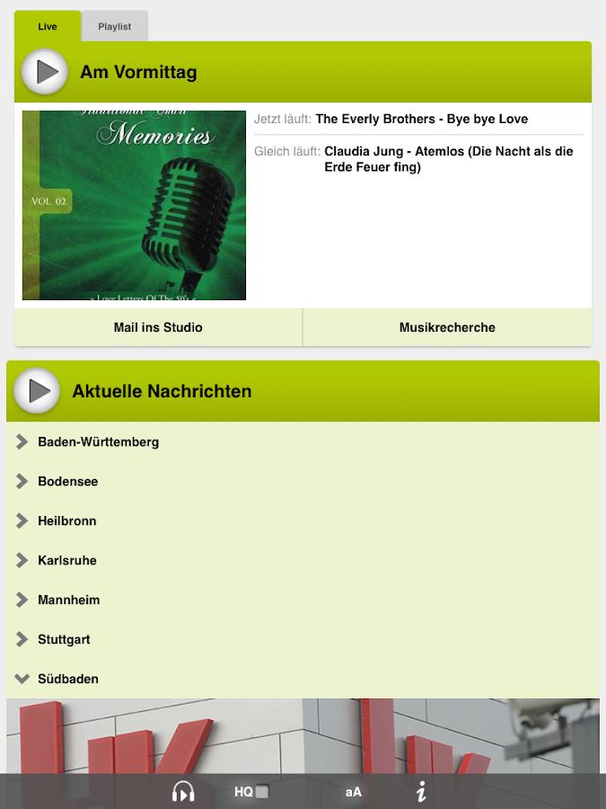 Swr4 Bw Musikrecherche