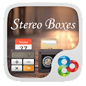 Stereo Boxes GO Launcher Theme icon