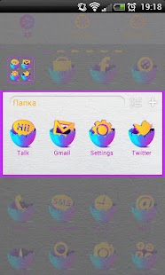 EGG IN Theme Go Launcher EX - screenshot thumbnail
