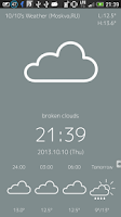 Screenshot of WeatherLockScreen