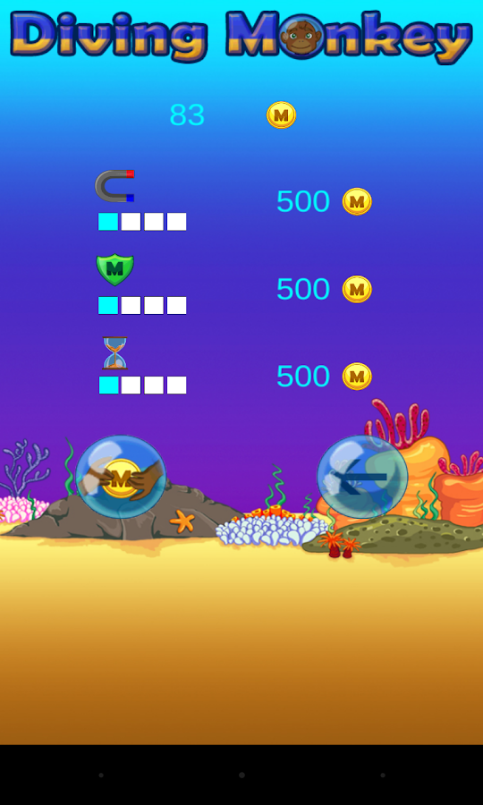 Diving Monkey- screenshot