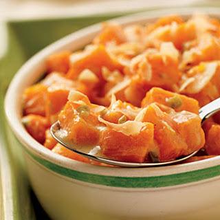 Coconut-Glazed Sweet Potatoes