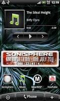 Screenshot of Countdown to Sonisphere UK