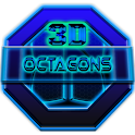 Next Launcher Theme Octagons icon