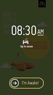 McDonald's® Surprise Alarm- screenshot thumbnail