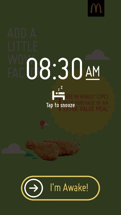 McDonald's® Surprise Alarm - screenshot