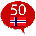 Learn Norwegian - 50 languages icon