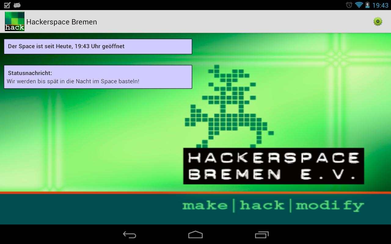 Hackerspace Bremen- screenshot
