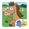 Horse Puzzle for Kids Games icon