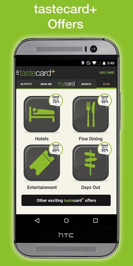 tastecard Restaurant Discounts - screenshot