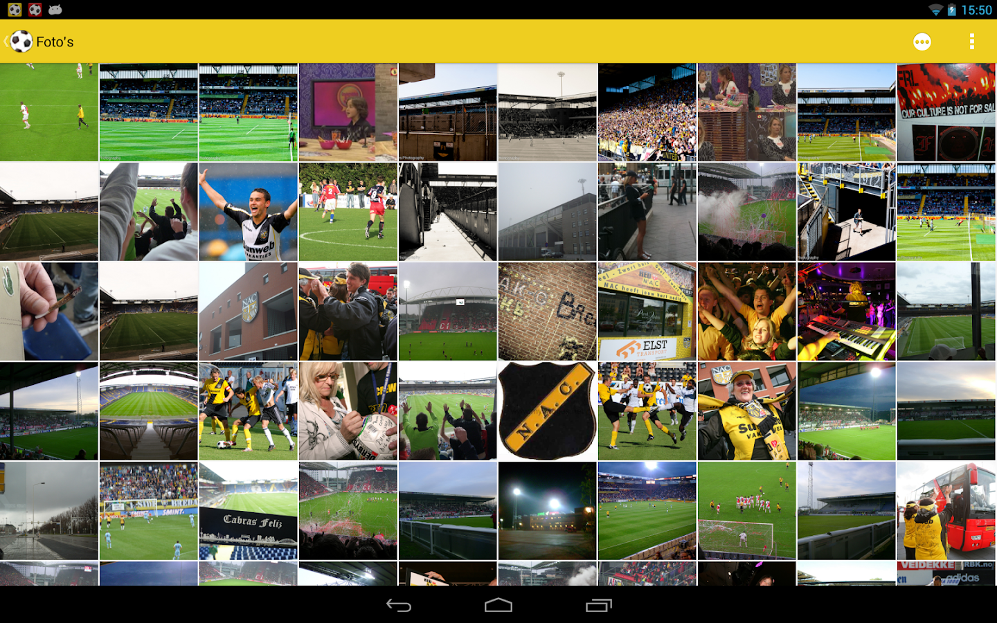 NAC Breda Fan - screenshot